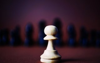 Lone Chess Piece